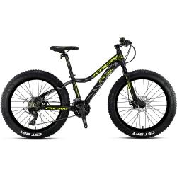KRON FXC 500 FAT BIKE Mekanik Disk 24 Jant Profesyonel Dağ Bisikleti