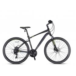 2021 Kron TX 150 28 Jant Hidrolik Disk Profesyonel Şehir Bisikleti Mat Siyah-sarı
