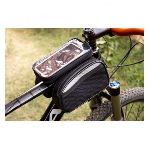 Bisiklet Kadro Üstü Heybe Çanta Dokunmatik 6.5 inç PROCYCLE BEYAZ